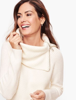 Split Neck Sweater