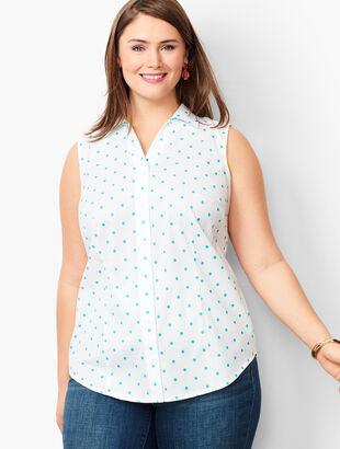 Perfect Shirt - Sleeveless - Garden Dot