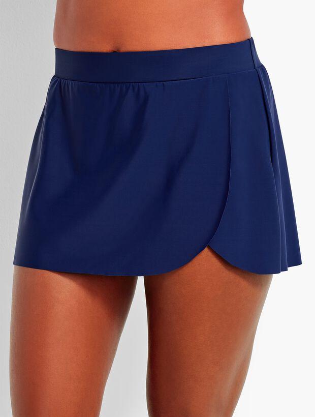 Faux-Wrap Skirt