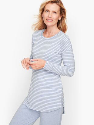 Lightweight Jersey Lounge Top