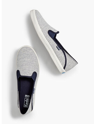 Keds(TM) Crashback Slip-On Sneakers - Stripe