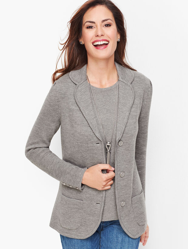 Sweater Blazer - Merino