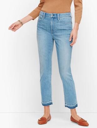 Modern Ankle Jeans - Leonard Wash