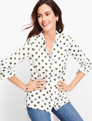 Classic Cotton Shirt - Dot