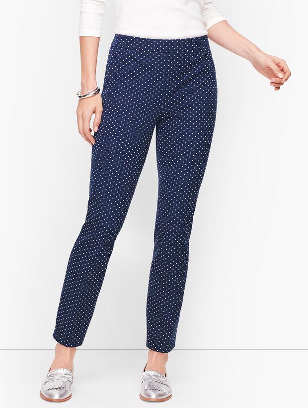 Talbots Chatham Ankle Pants - Garden Dot