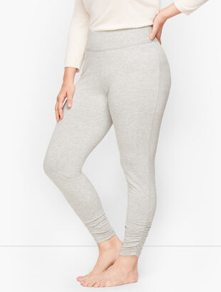 Soft Drape Ruched Leggings