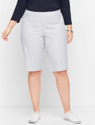 "Perfect Shorts - 13"" - Railroad Stripe"