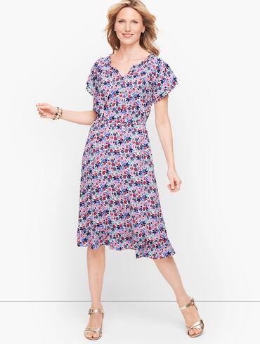 Paradise Floral Popover Dress