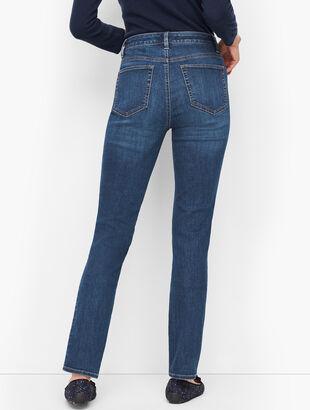 Straight Leg Jeans - Park Wash