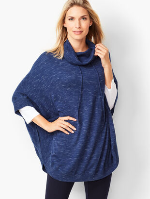 Knit Space-Dyed Poncho