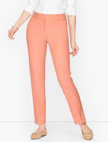 Plus Size Exclusive Talbots Hampshire Ankle Pants - Textured Color