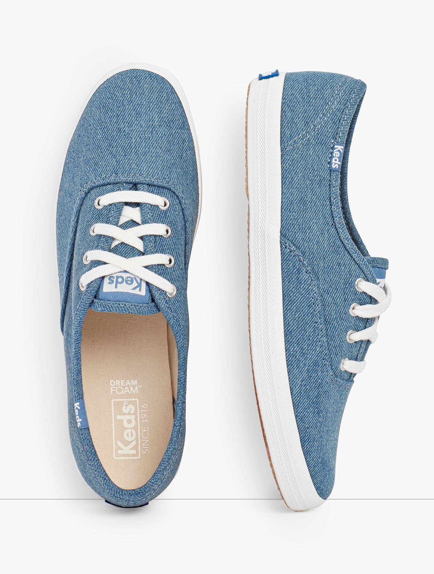 Keds® Champion Sneakers - Denim   Talbots