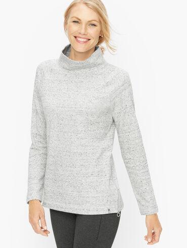 Featherweight Fleece Zip Hem Pullover