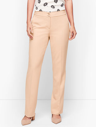 Luxe Italian Double Weave Collection - Barely Boot Pants