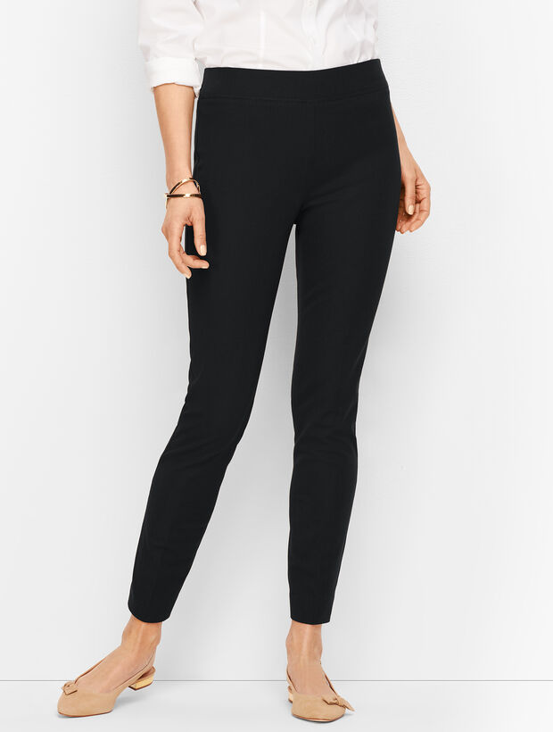 80a8b56dbfc Images. Bi-Stretch Pull-On Ankle Pants