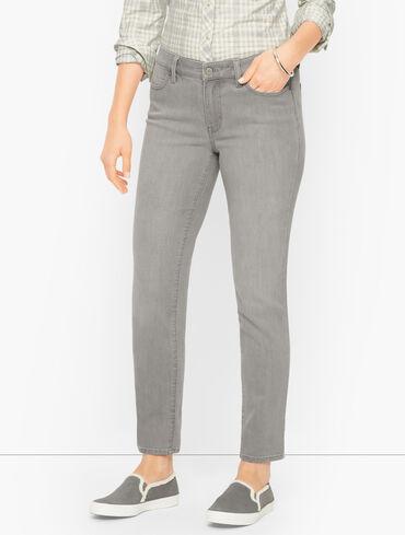 Slim Ankle Jeans - Stratus Wash - Curvy Fit