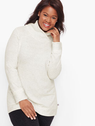Plush Fleece Pullover - Jacquard