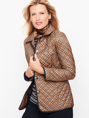 Quilted Jacket - Print