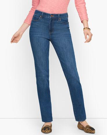 Straight Leg Jeans - Solstice Wash - Curvy Fit
