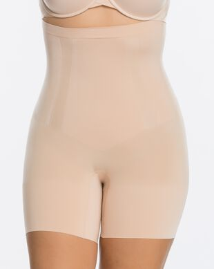 Plus Size Spanx(R) OnCore High-Waist Mid-Thigh Short
