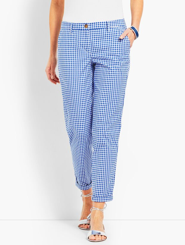Girlfriend Chino - Gingham
