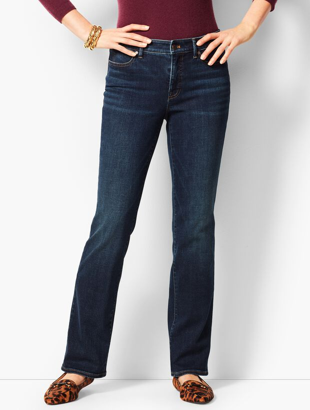 High-Waist Barely Boot Jeans - Pioneer Wash