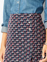 Boucle Wrap Skirt