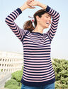 Link Stitch Sweater - Stripe