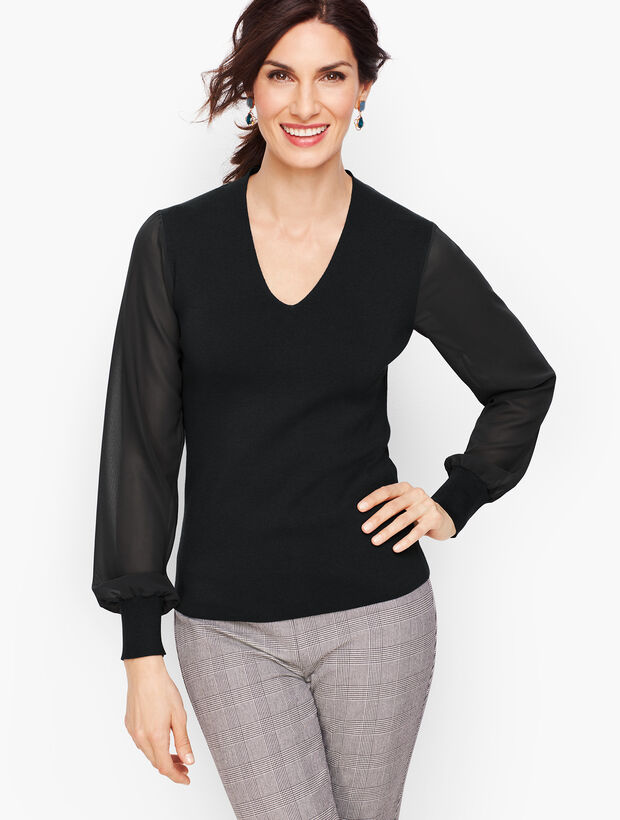 Poet Sleeve Sweater