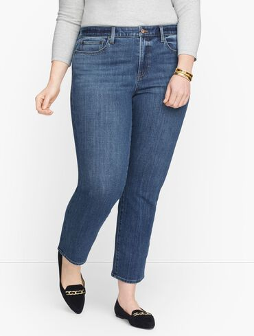 Modern Ankle Jeans - Pier Wash