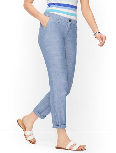 Relaxed Chinos - Chambray
