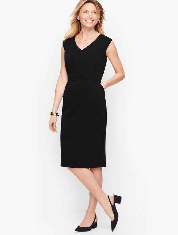 Italian Luxe Knit Sheath Dress