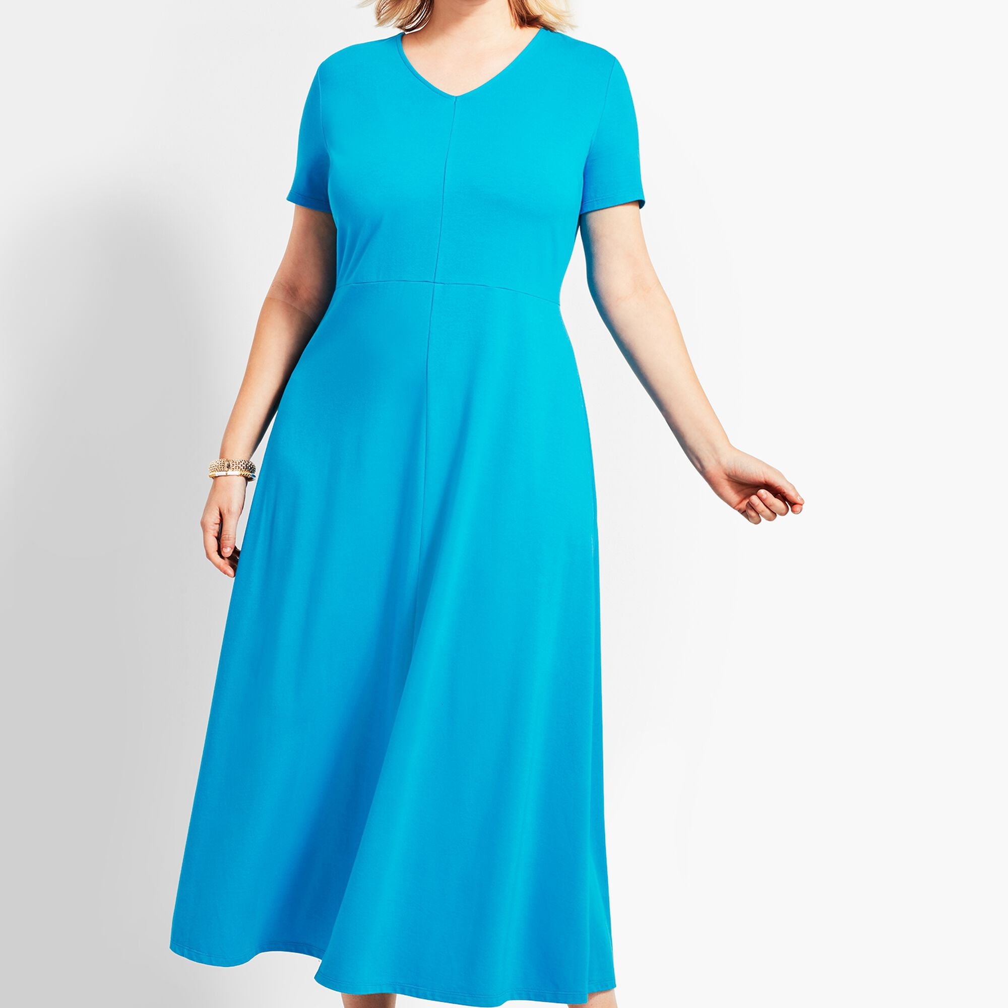 14ef2d5f957 Woman Exclusive Casual Jersey Maxi Dress Opens a New Window.