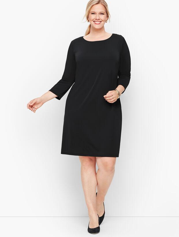 Knit Jersey Shift Dress