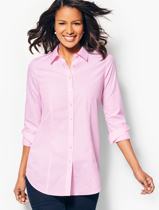 Longer Length Perfect Shirt - End-on-End