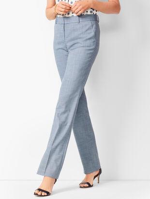 Tailored Sharkskin Barely Boot Pants