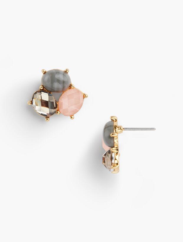 Pink & Neutral Earrings