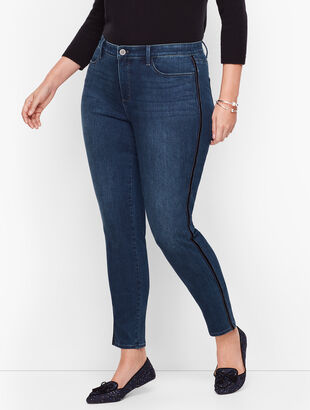 Jeggings - Velvet Trim