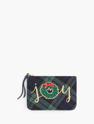 Black Watch Joy Pouch
