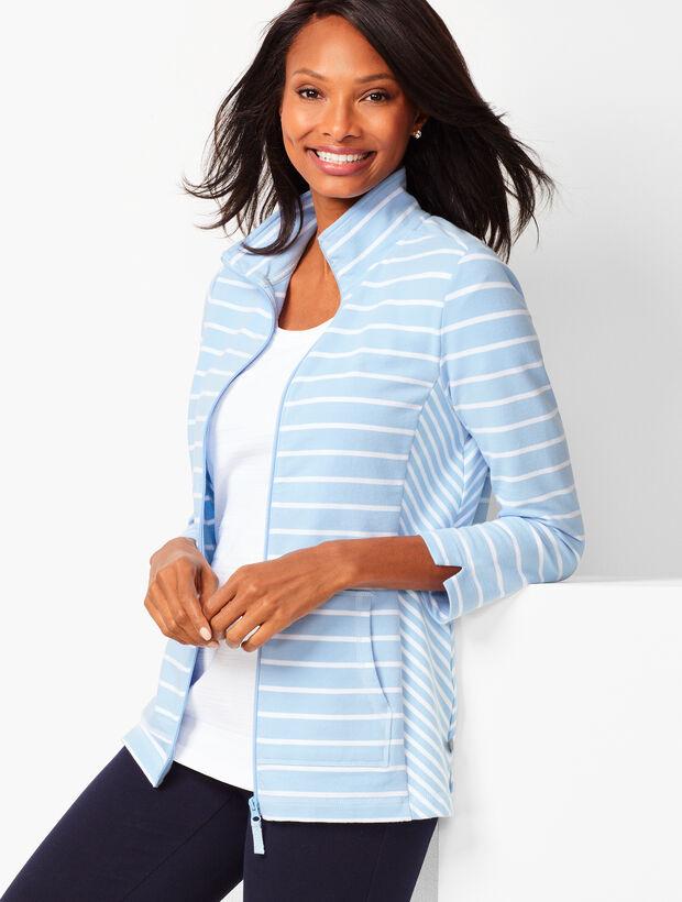 Mixed-Stripe Jacket