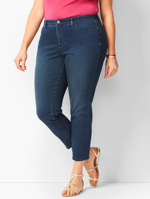 Denim Jegging Crops - Atmosphere Wash