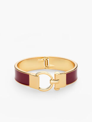Equestrian Link Bangle