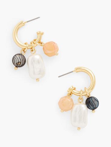 So Charming Hoop Earrings