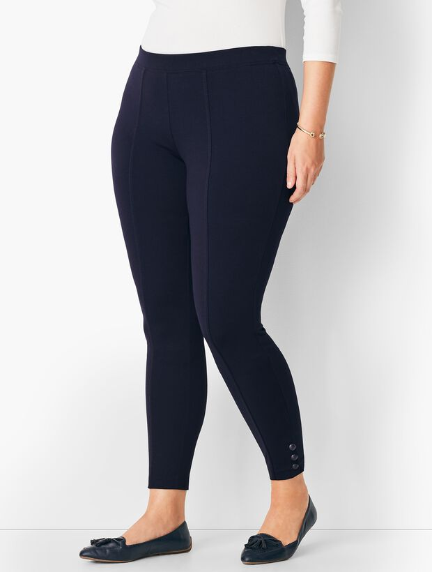 184244e4069 Images. Ankle-Snap Ponte Leggings ...