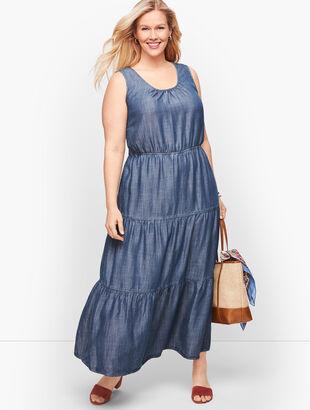 TENCEL™ Tiered Maxi Dress