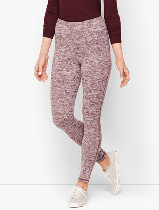 High Waist Marled Leggings