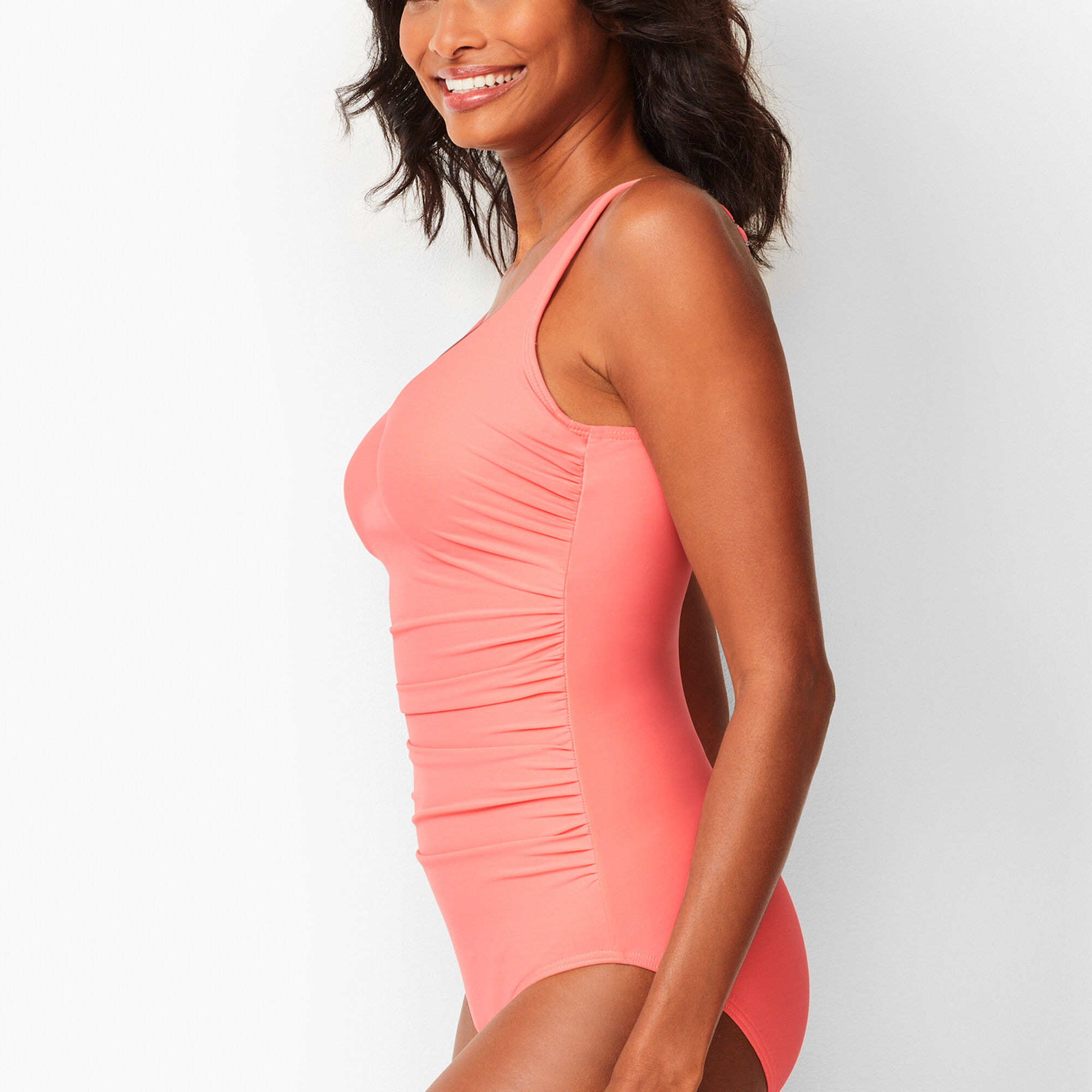 df99c5ff6d452 Miraclesuit(R) Amici V-Neck One-Piece Swimsuit - Solid