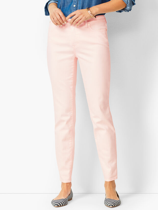 Slim Ankle Jeans - Light French Rose
