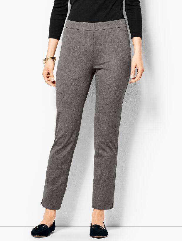 Talbots Chatham Ankle Pant - Charcoal Grey