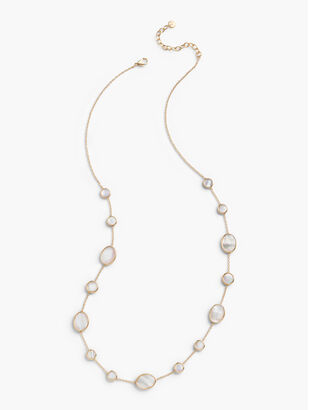 Mother-of-Pearl Layering Necklace